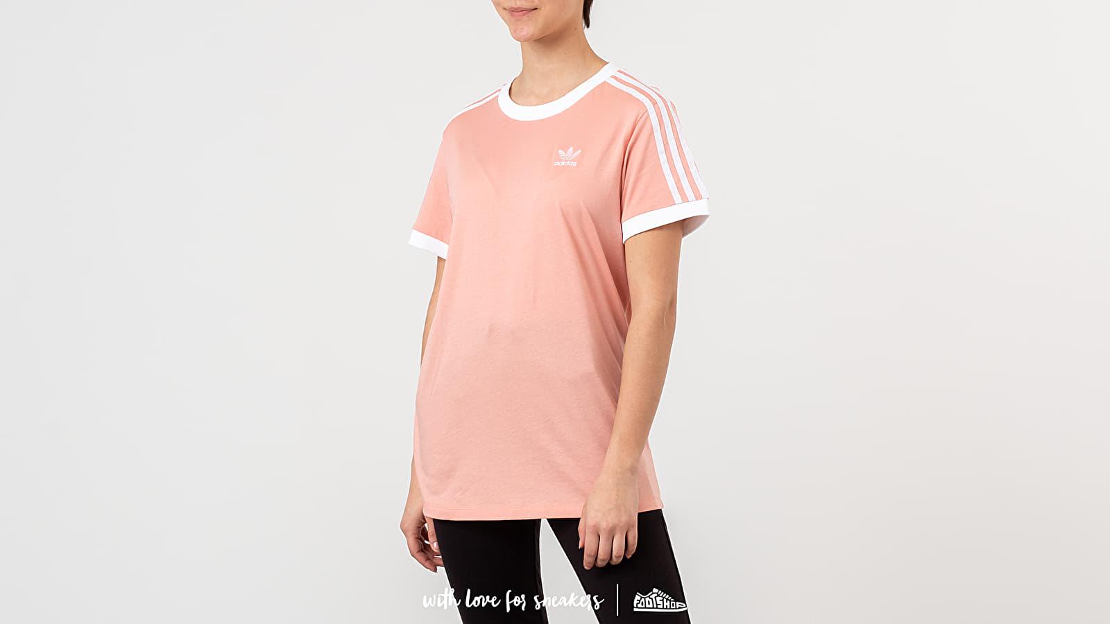 adidas 3-Stripes Tee Dust Pink | Footshop