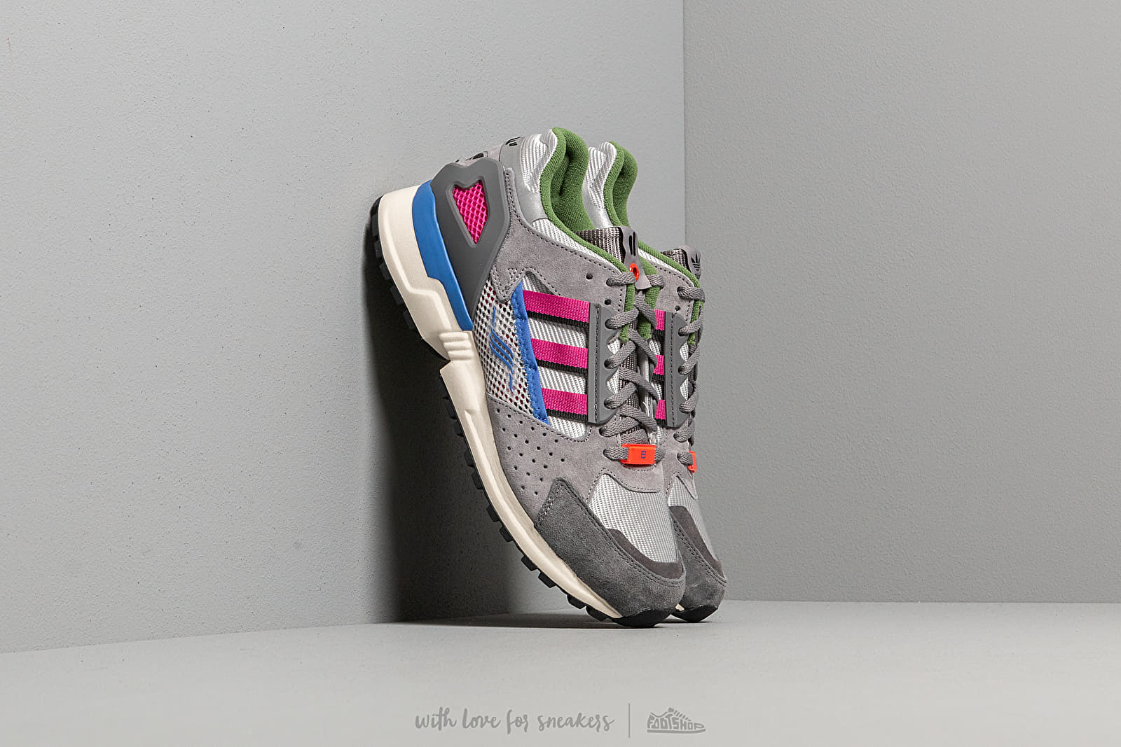 adidas Consortium x Overkill ZX 10,000-C Grey Two/ Supplier Colour/ Supplier Colour at a great price 152 € buy at Footshop