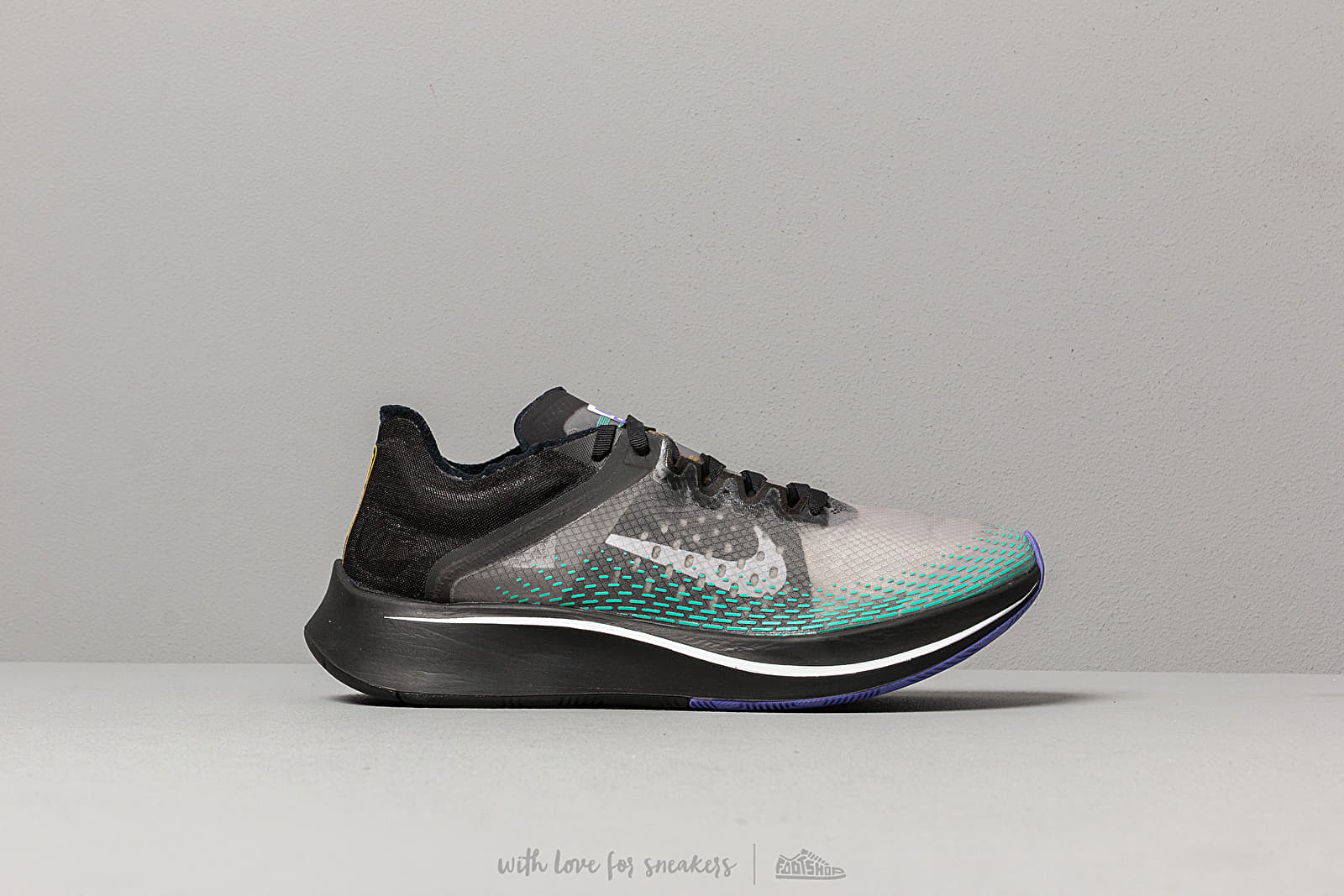 a5dbf1a4c0022 Nike Zoom Fly Sp Fast Black  White-Hyper Jade at a great price 158