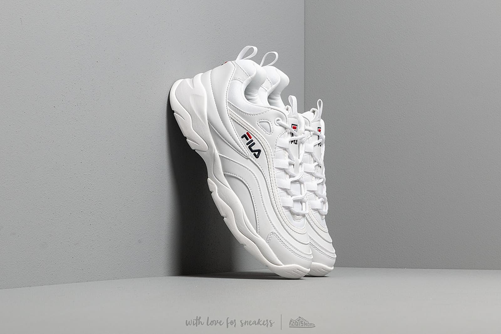 Men's shoes FILA Ray Low White