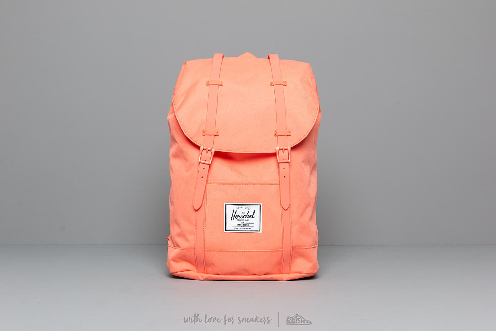 Herschel Supply Co. Retreat Backpack Fresh Salmon at a great price 86 € buy at Footshop