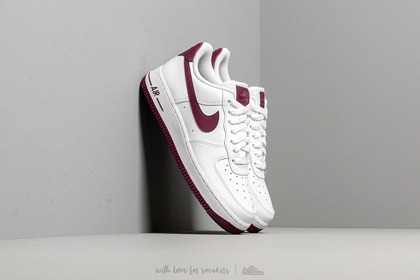 air force 1 bordeaux uomo