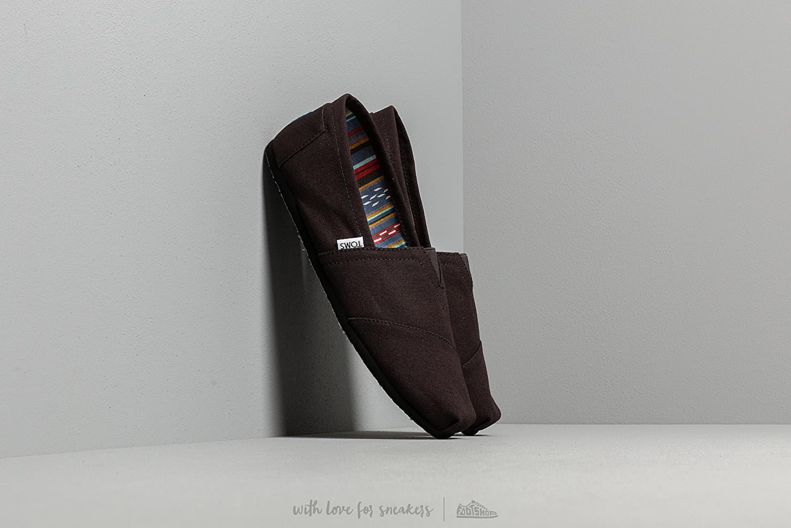 Chaussures et baskets homme Toms Alpargata Black/ Black