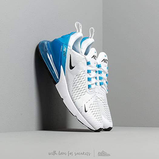 Nike Air Max 270 White Black Photo Blue Pure Platinum   Footshop