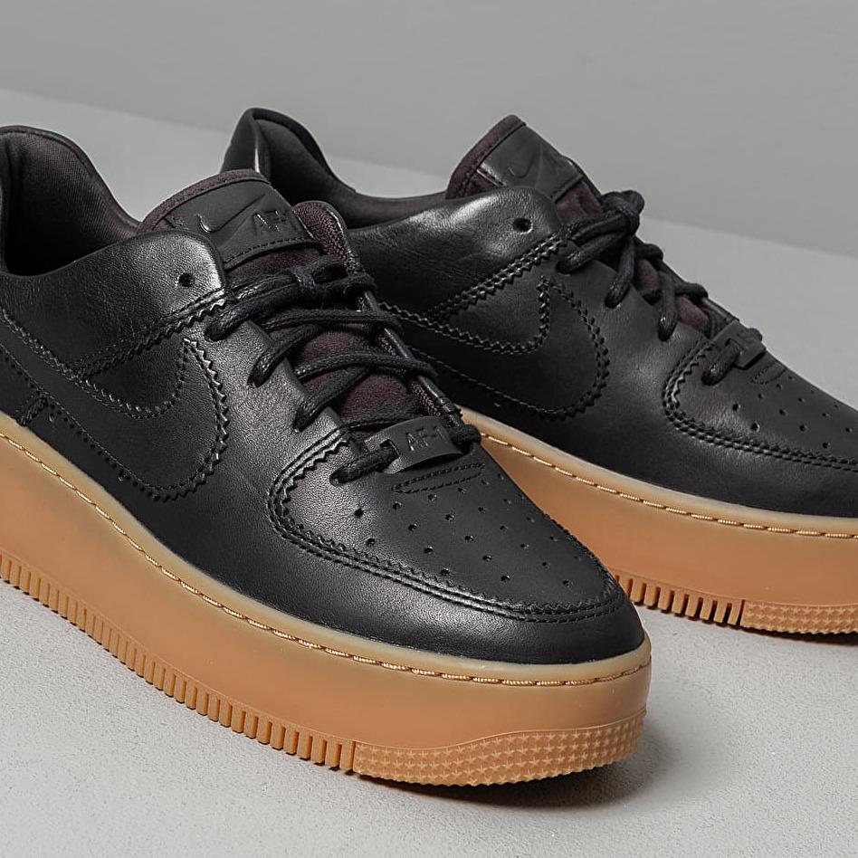 Nike W Air Force 1 Sage Low Lx Oil Grey/ Oil Grey-Gum Light Brown-White, Gray