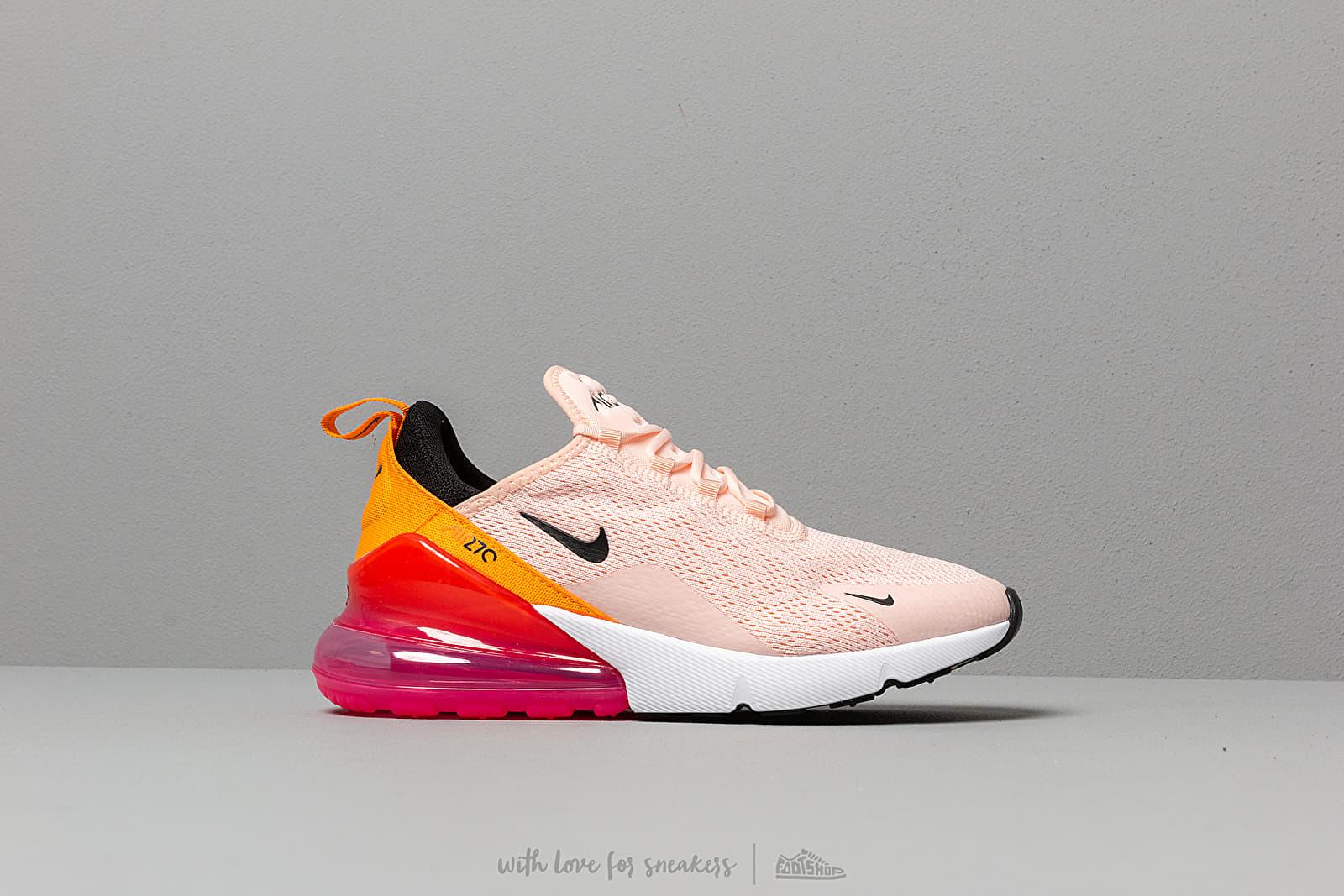 separation shoes 0f2cf 98028 Nike W Air Max 270 Washed Coral  Black-Laser Fuchsia au meilleur prix 139