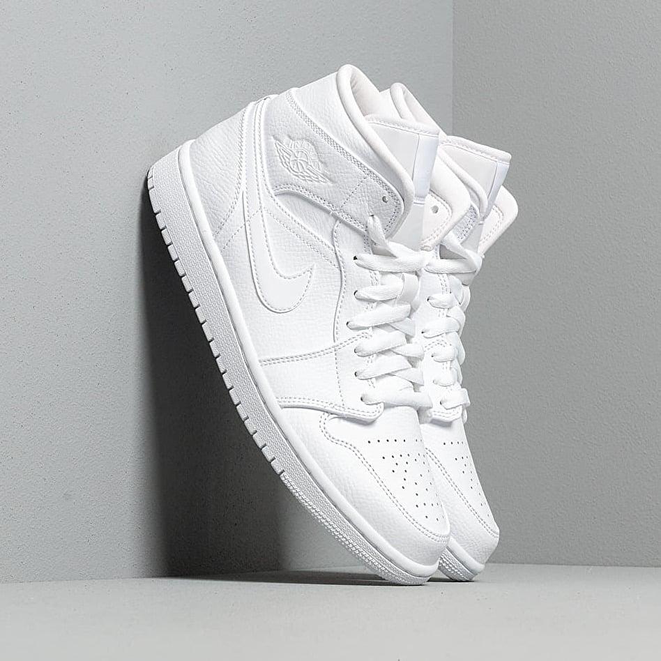 Air Jordan 1 Mid White/ White-White EUR 44.5