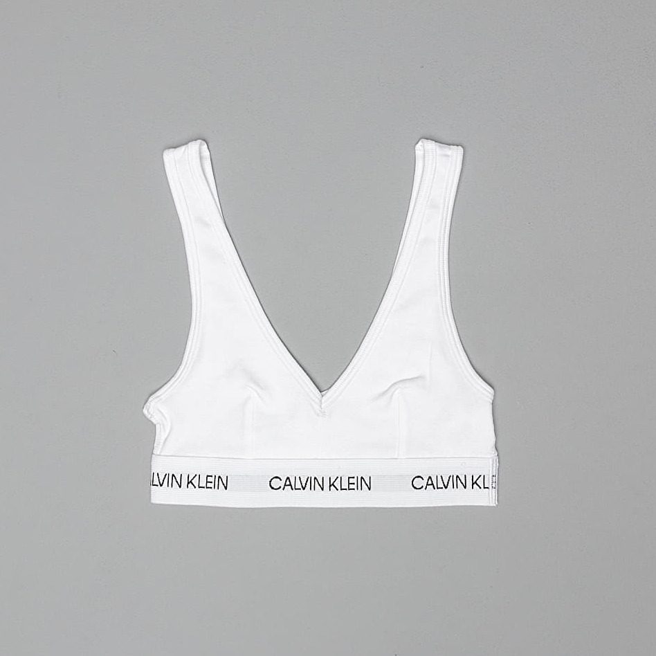 Calvin Klein Statement 1981 Unlined Bralette White