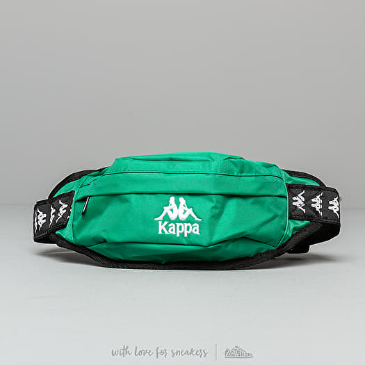 81d5a59a9ea Kappa Banda Anais Waist Bag Green/ Black/ White