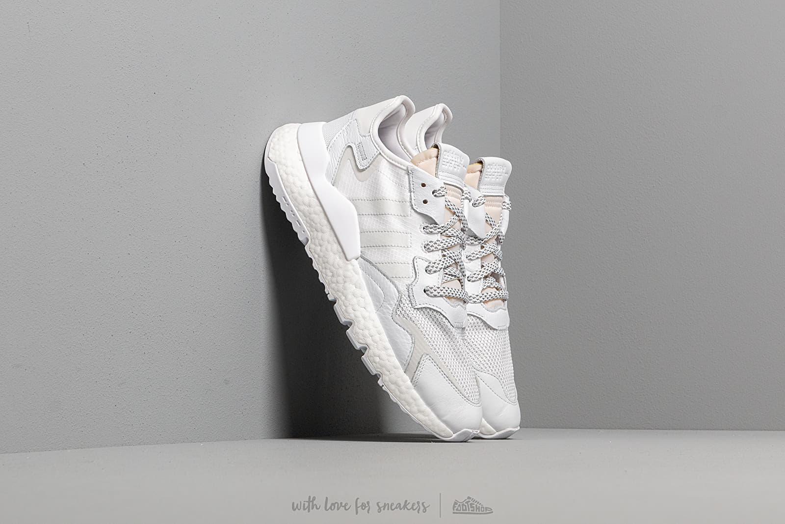 Ανδρικά παπούτσια adidas Nite Jogger Ftw White/ Crystal White/ Crystal White