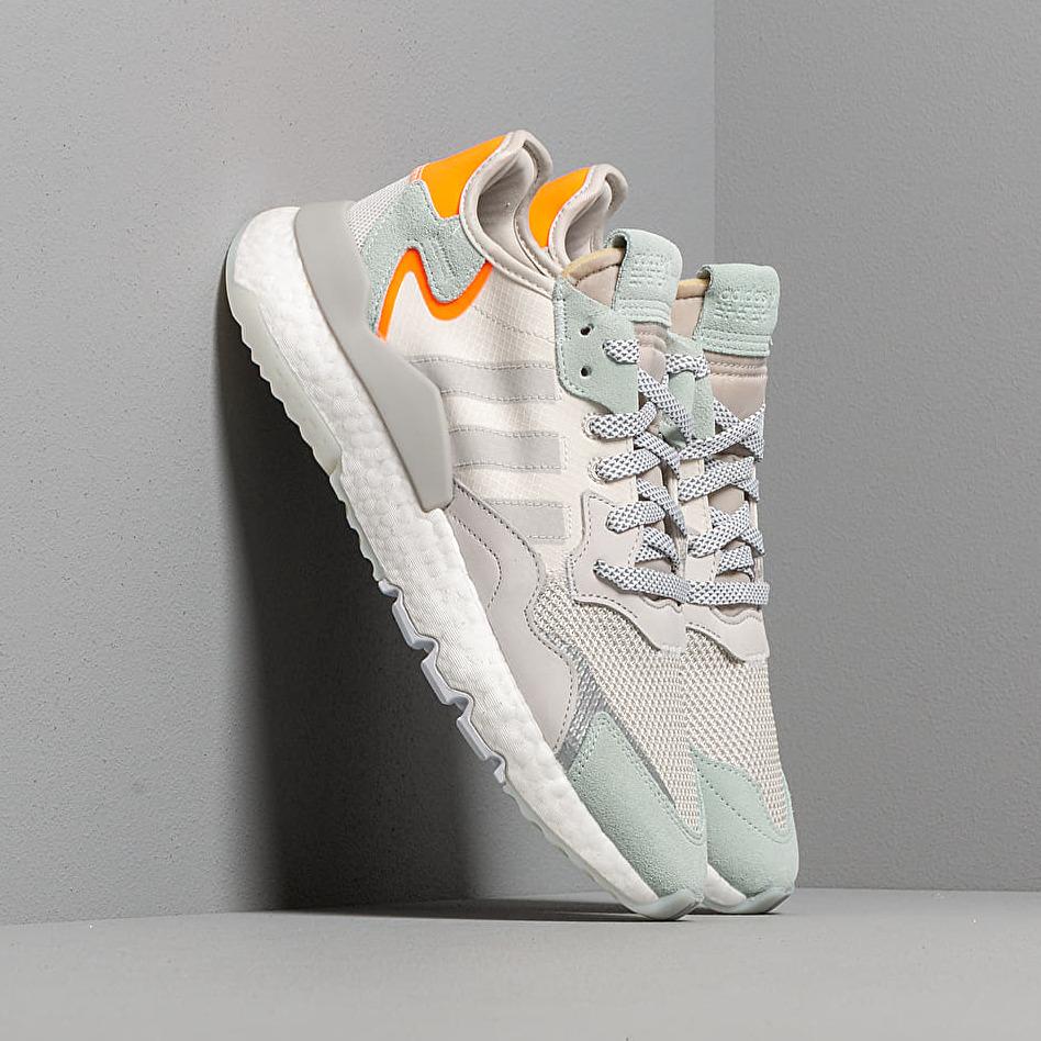 adidas Nite Jogger Raw White/ Grey One/ Vapor Green