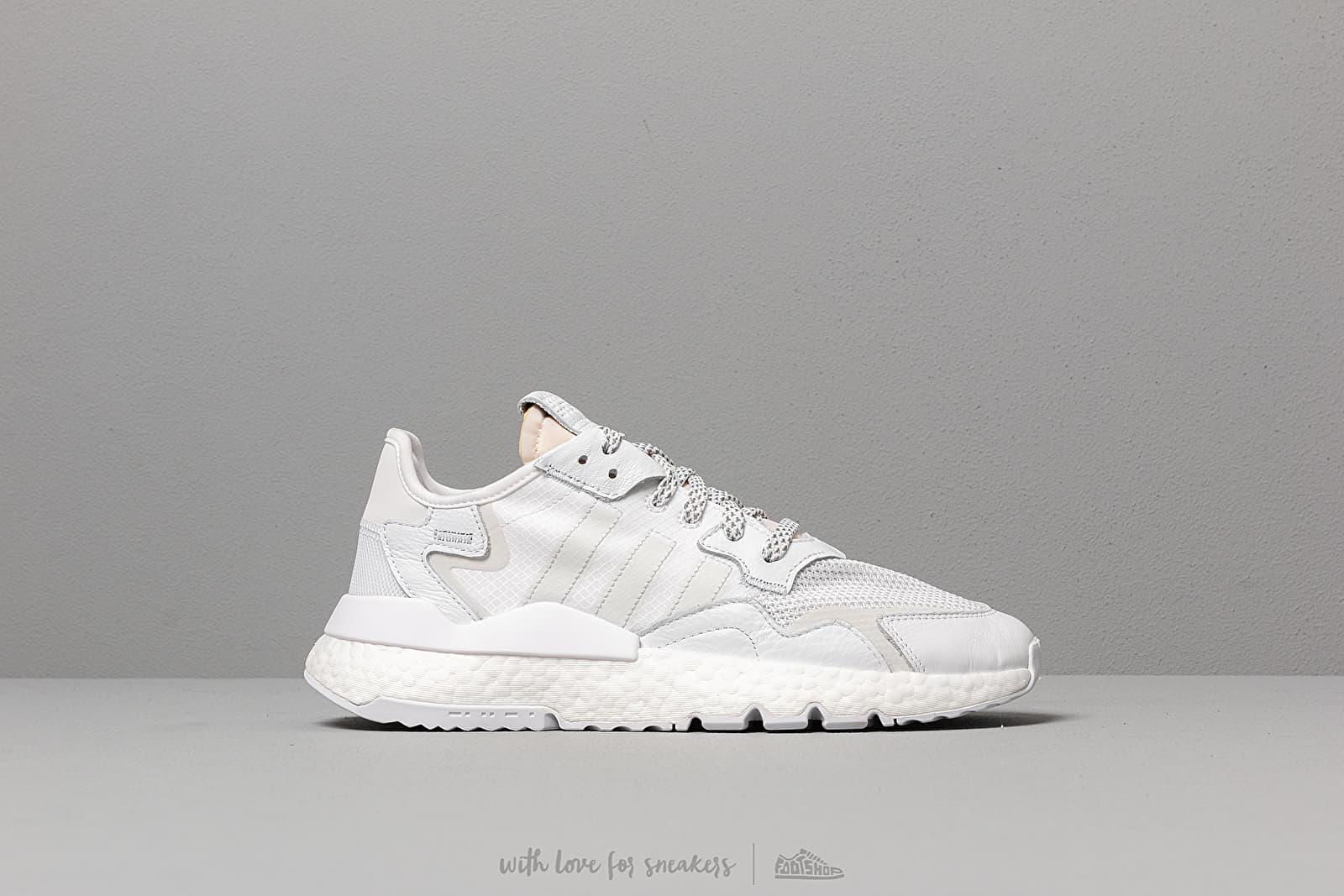 separation shoes 13ff4 e7dc1 adidas Nite Jogger Ftw White  Crystal White  Crystal White at a great price  125