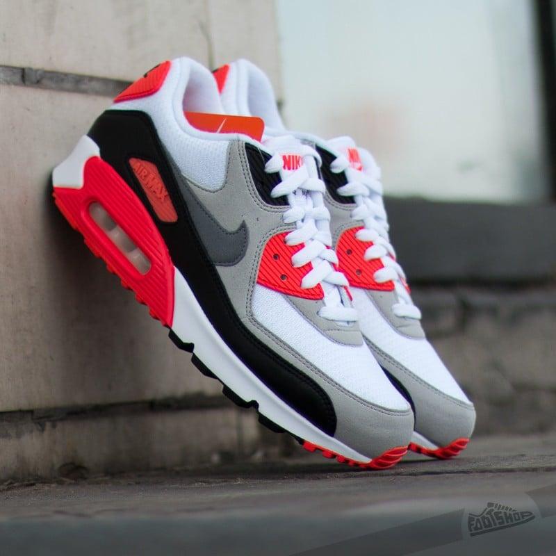b0ca847d569d0 Nike Air Max 90 OG Infrared White Cool Grey Neutral Grey