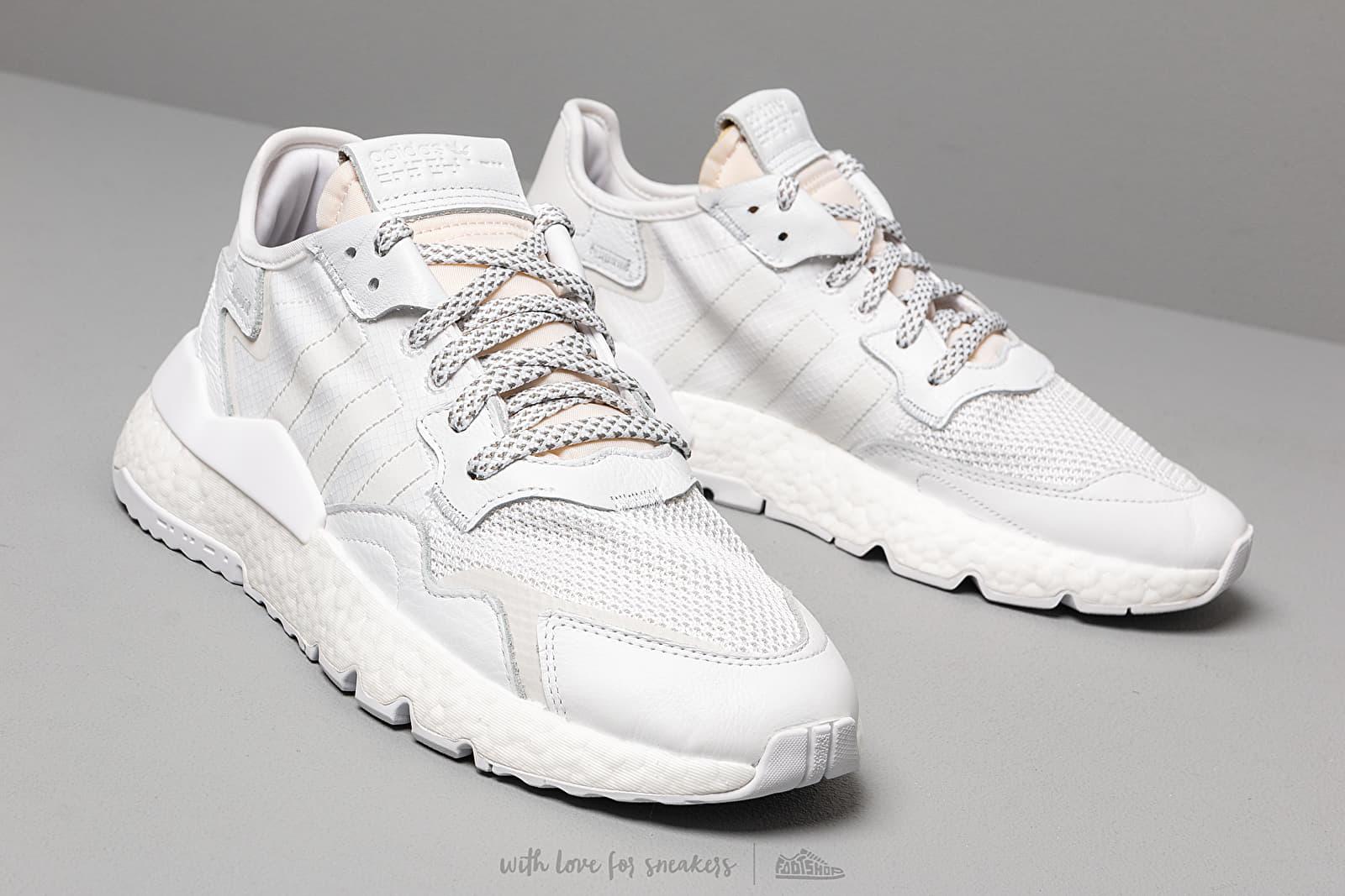 adidas Nite Jogger Ftw White Crystal White Crystal White | Footshop