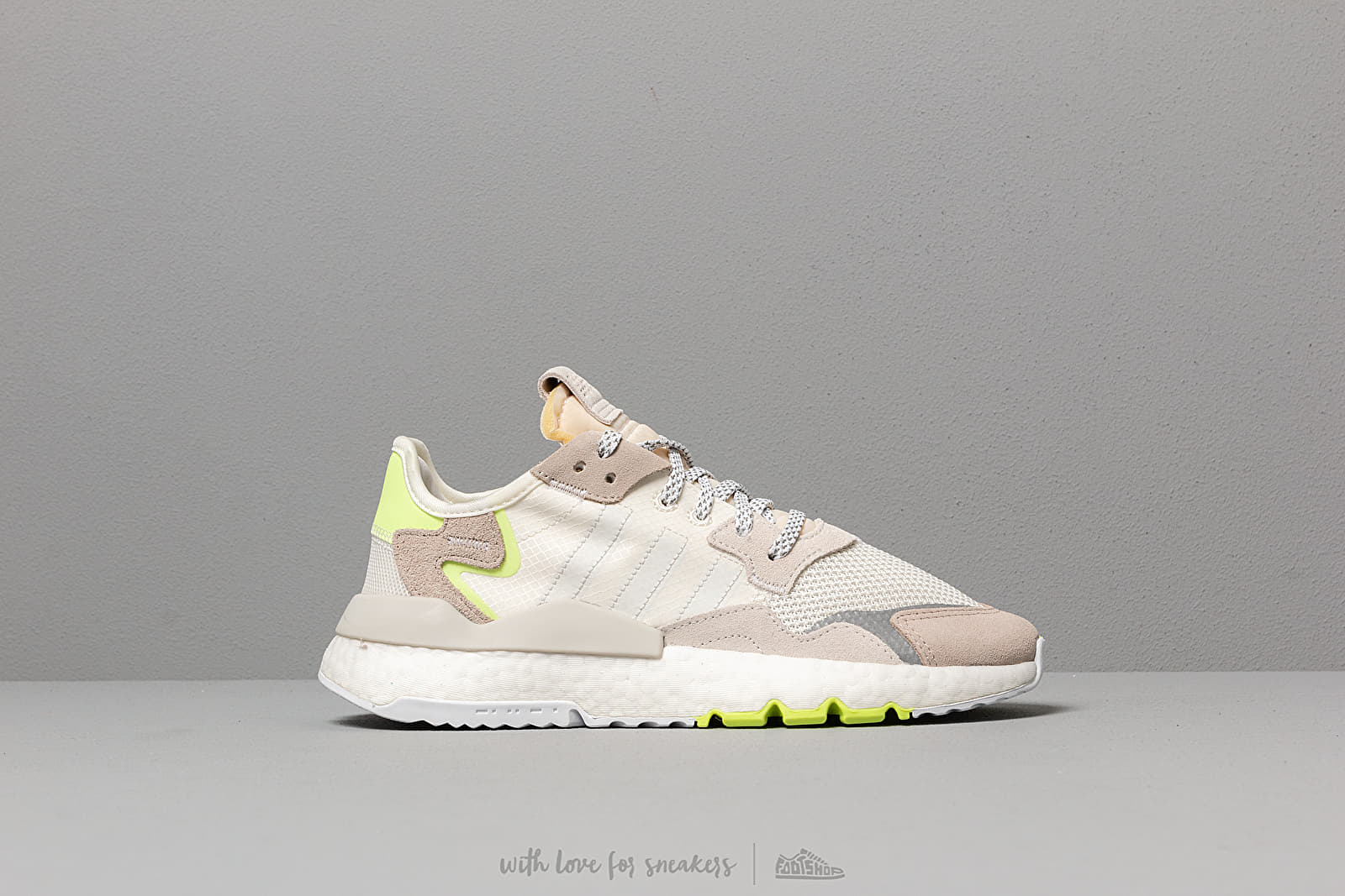 new concept fef41 a3942 adidas Nite Jogger W Off White  Ftw White  Hi-Res Yellow at a