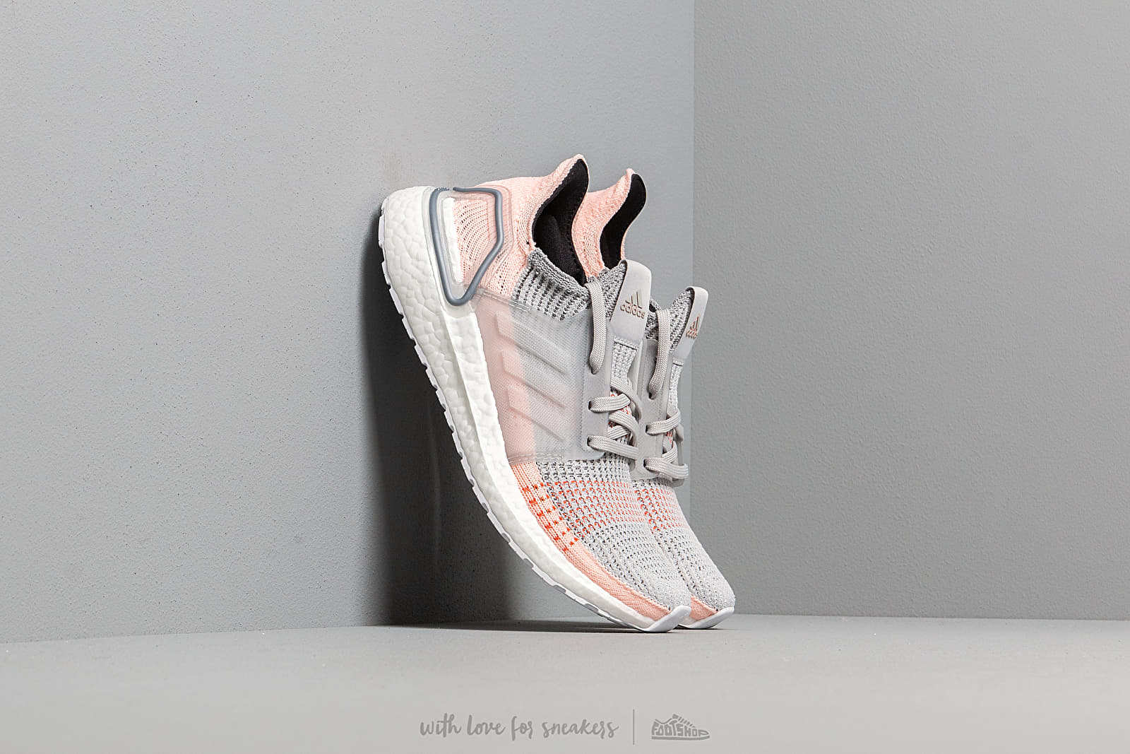 new arrival 3b0dc 8e268 adidas UltraBOOST 19 W Grey Two  Clear Orange  True Orange at a great price