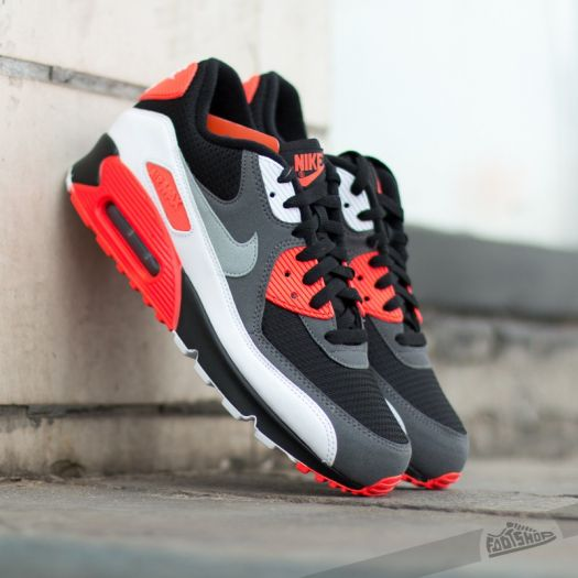 Nike Air Max 90 OG Reverse Infrared BlackNeutral GreyDark Grey | Footshop