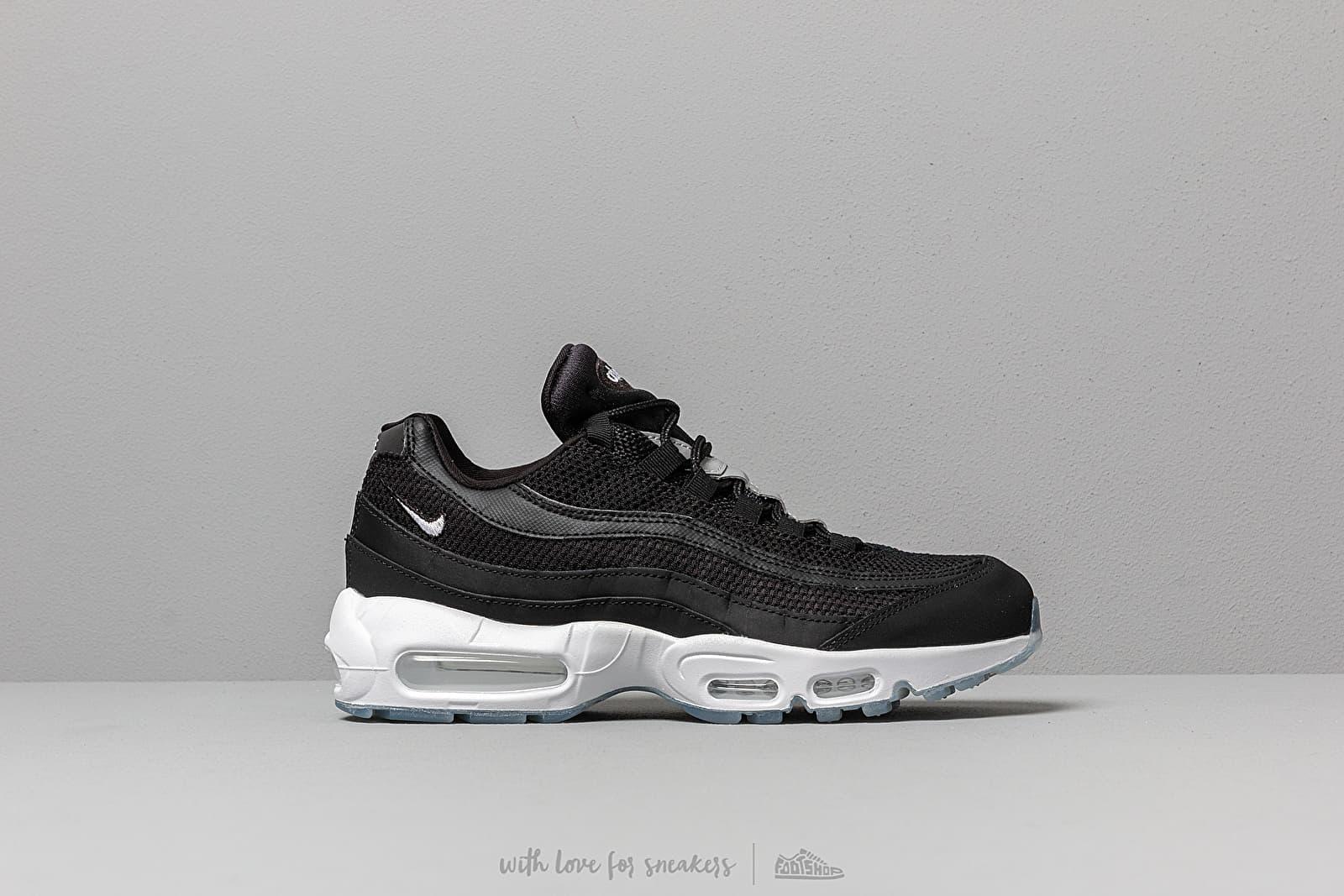 Nike Air Max 95 Essential Black White Black Reflect Silver | Footshop