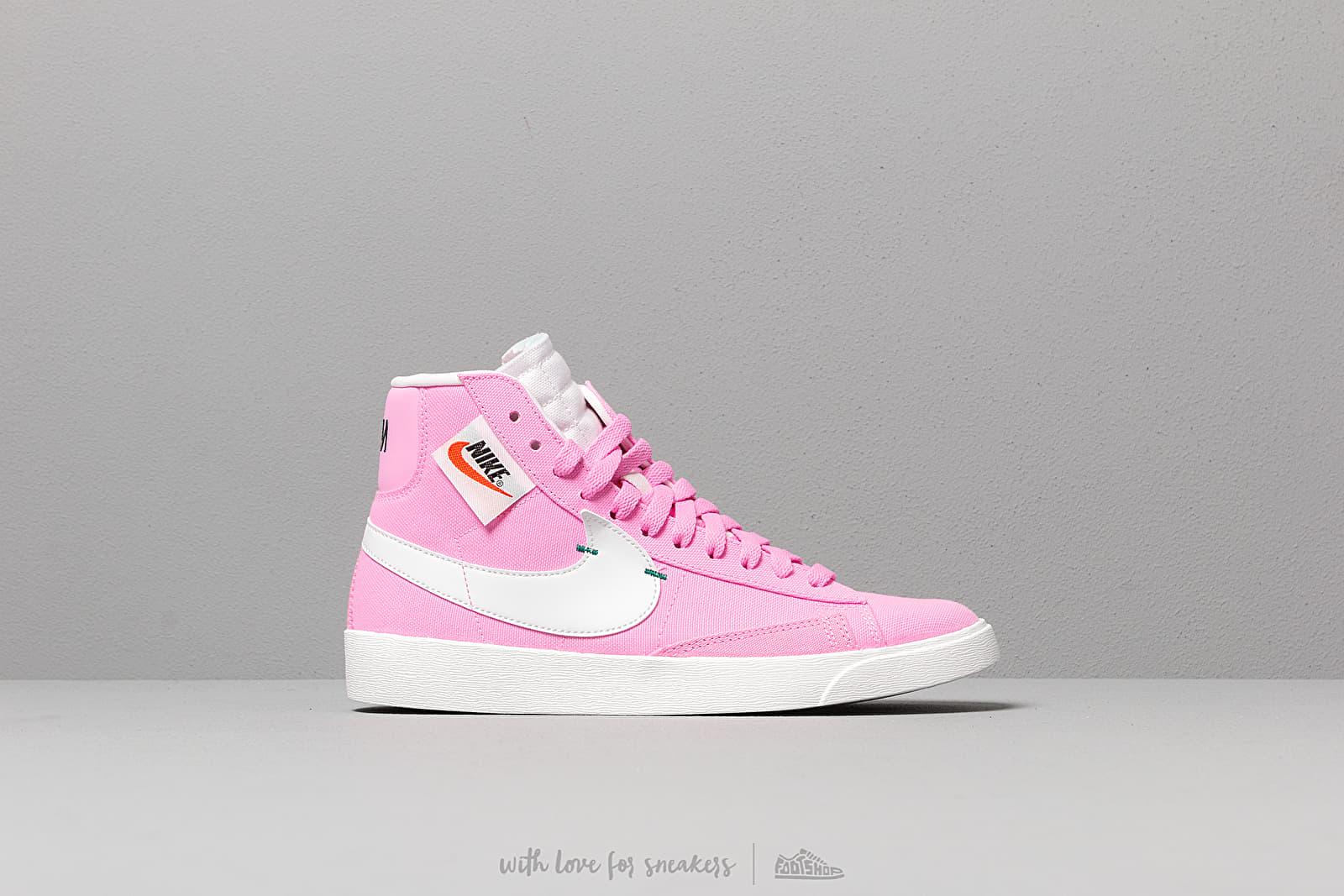 Nike W Blazer Mid Rebel Psychic Pink/ Summit White-Pale Pink | Footshop