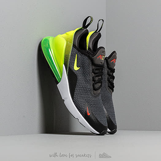 Nike Shoes Mens Air Max 270 SE Anthracite Volt Black Bright