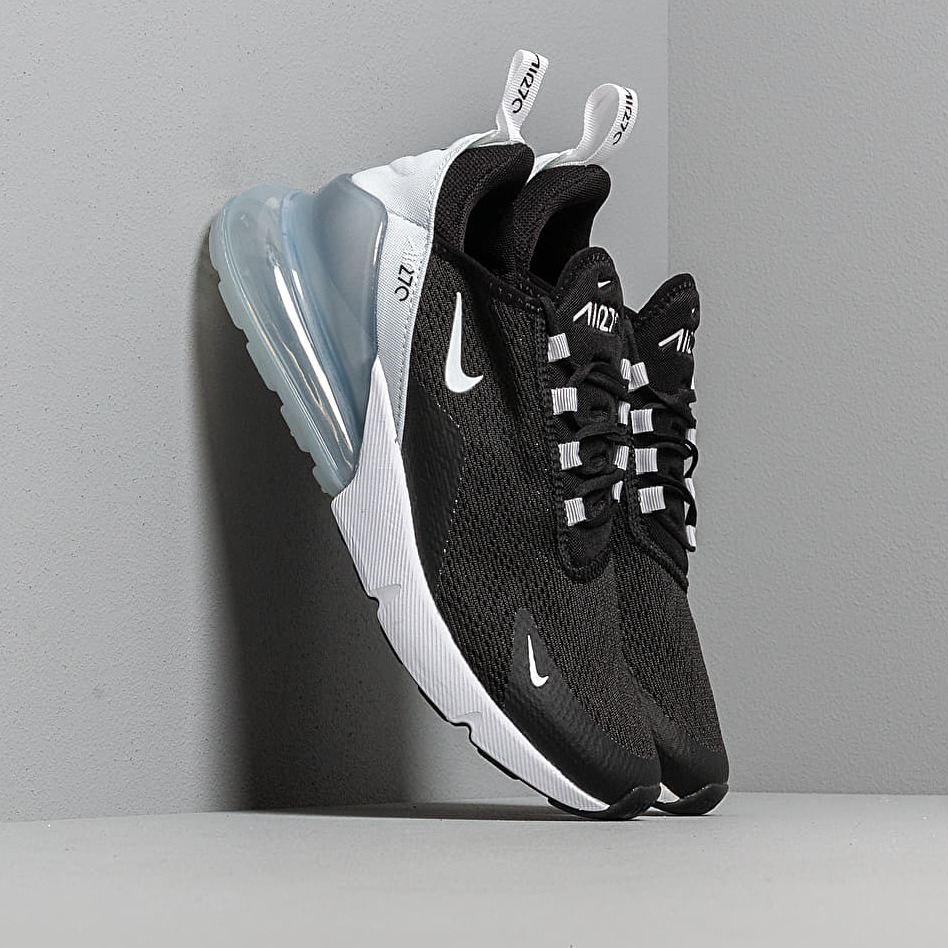 Nike W Air Max 270 Black/ White-Pure Platinum-White EUR 36