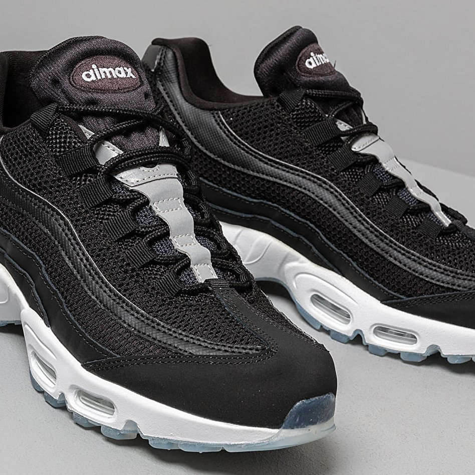 Nike Air Max 95 Essential Black White Black Reflect Silver
