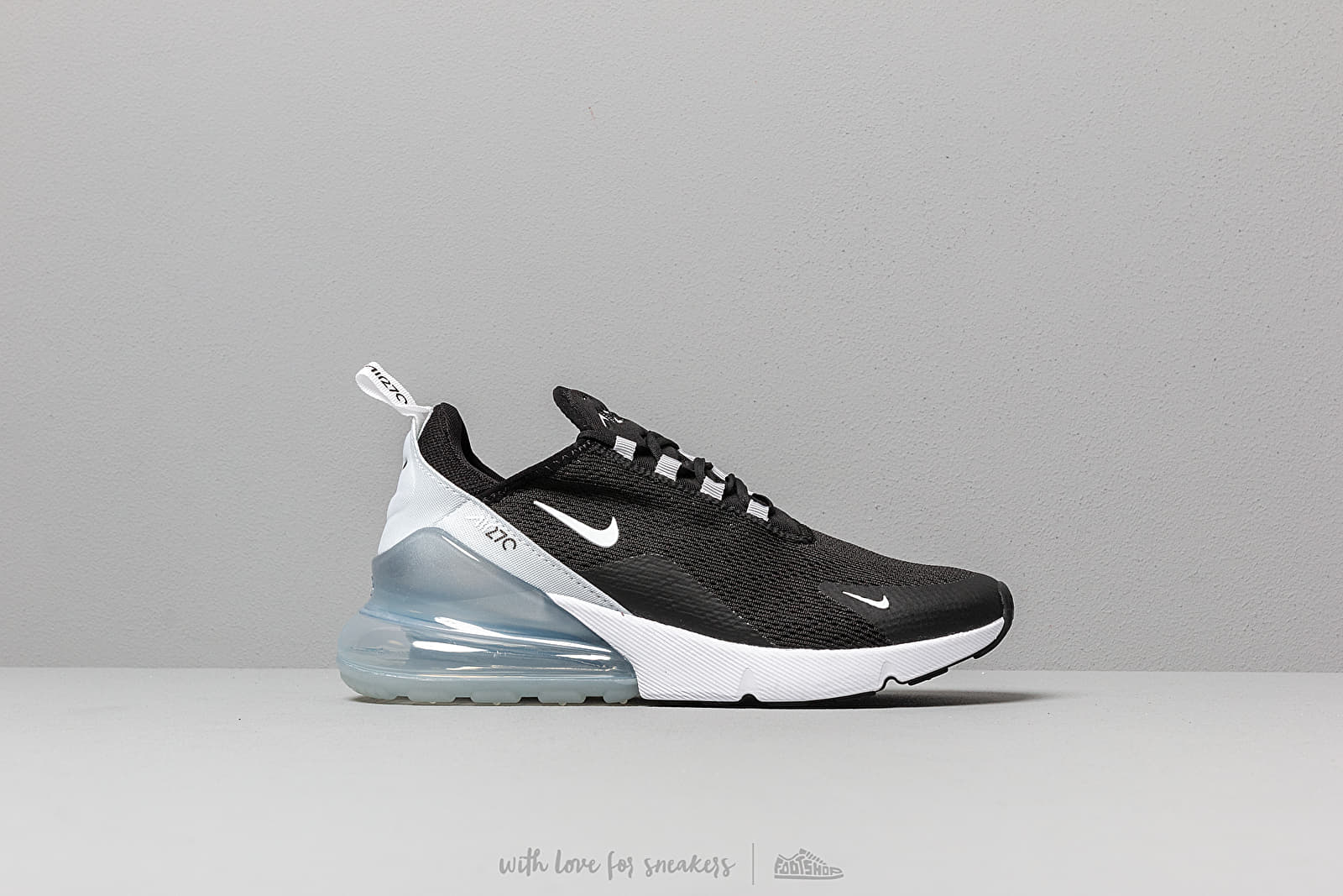 77349f3c Nike W Air Max 270 Black/ White-Pure Platinum-White at a great