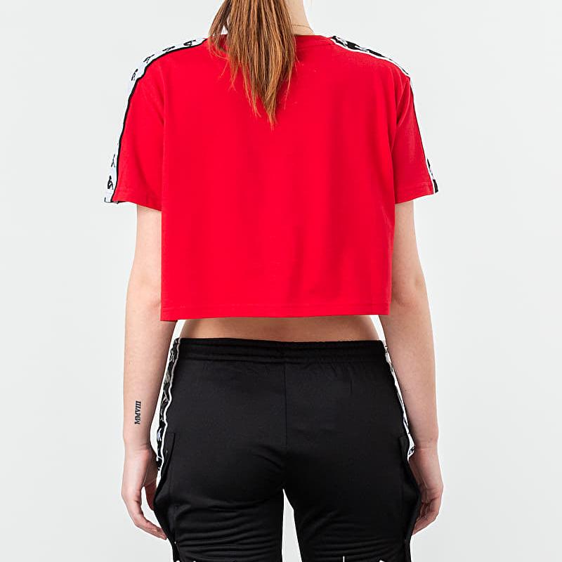 Kappa Banda Apua Tee Red/ Black/ White