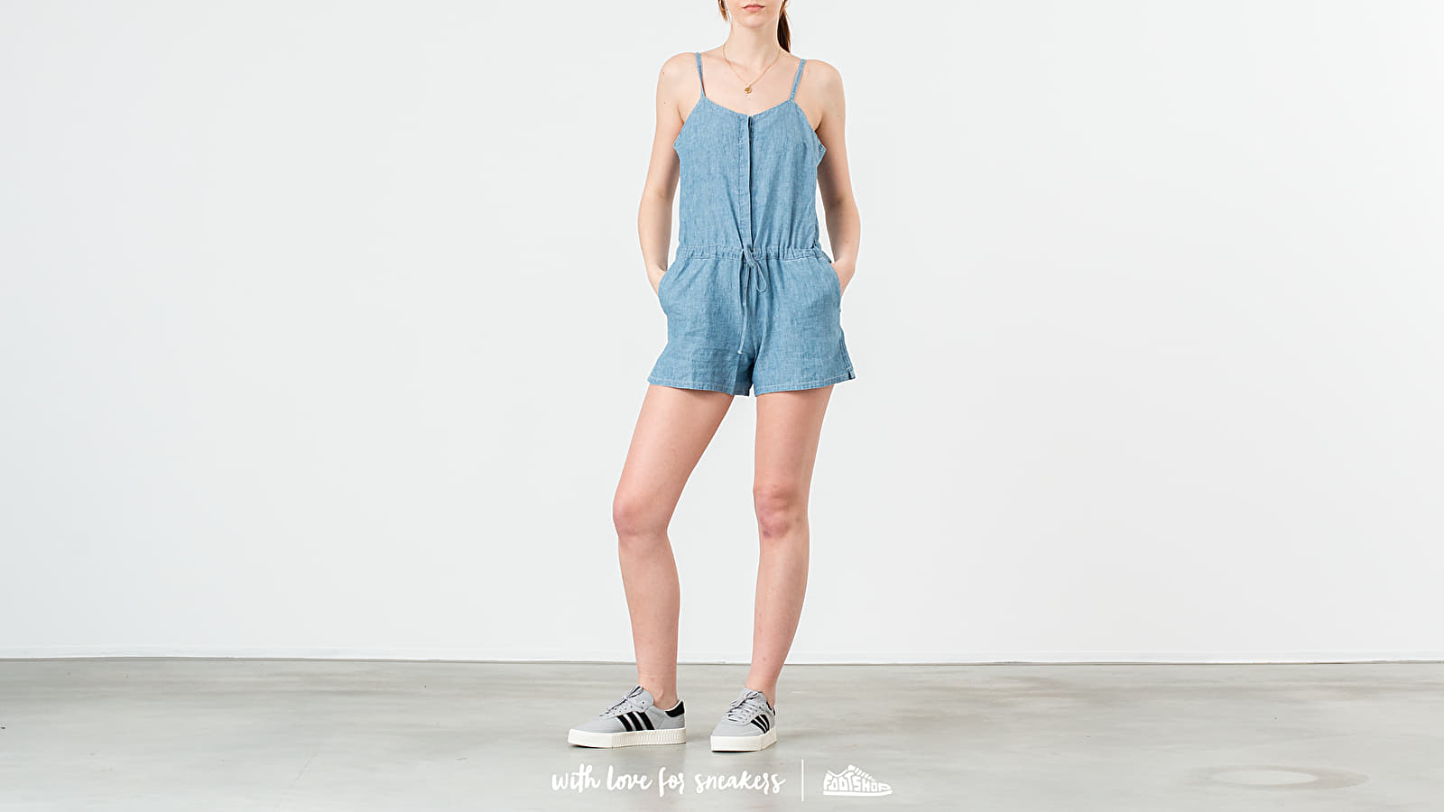 Tričká Levi's® Rock Amber Light Overall Blue