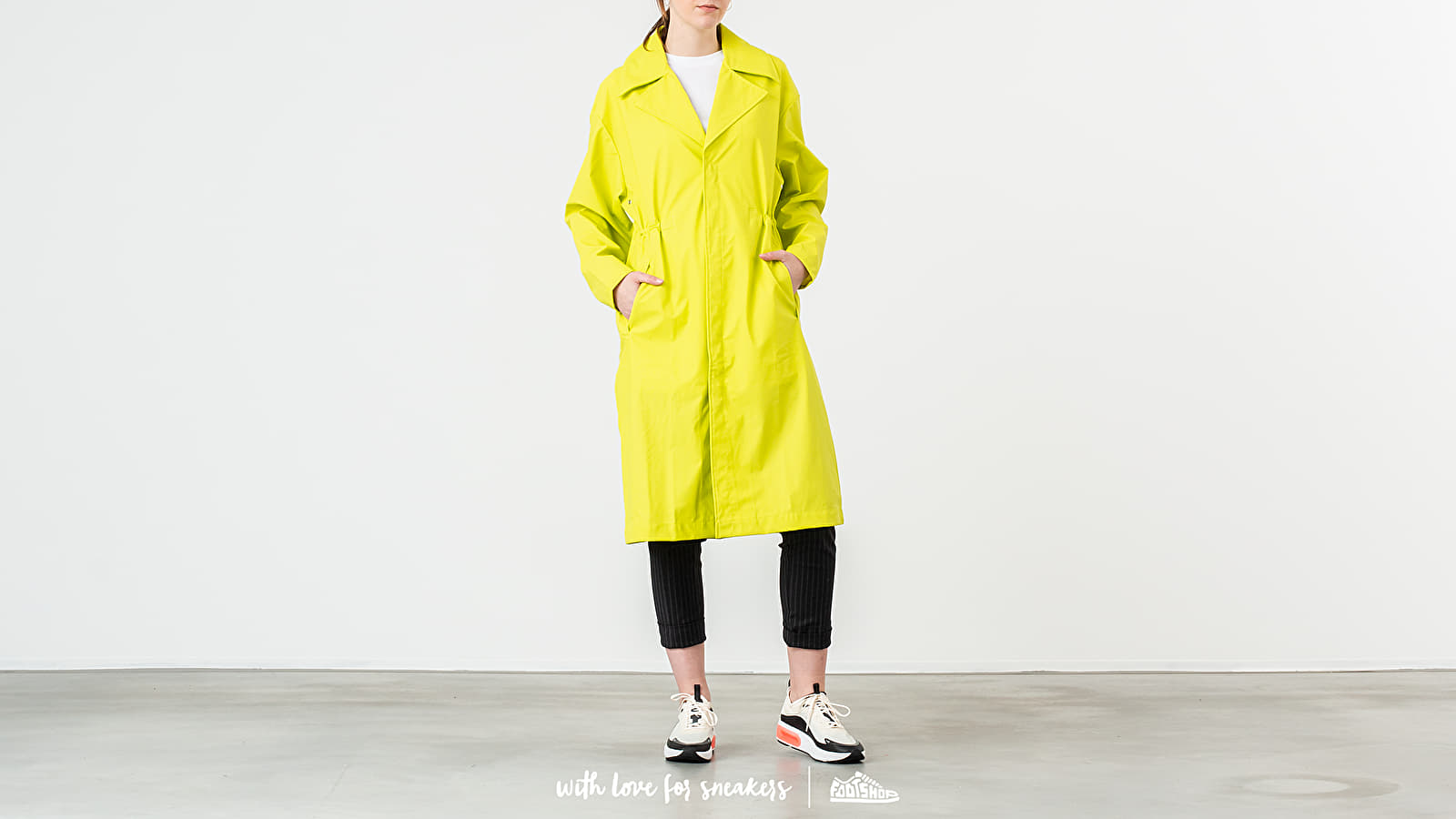 Jackets Rains LTD Curved Coat Neon Yellow