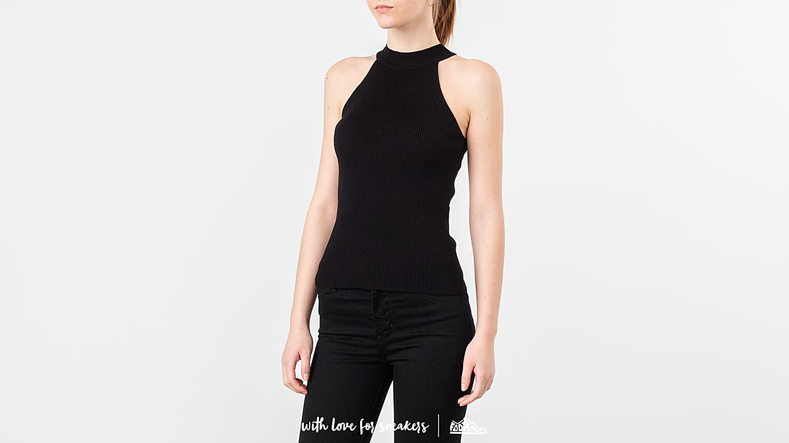 Topy SELECTED Solita Knitted Top Black