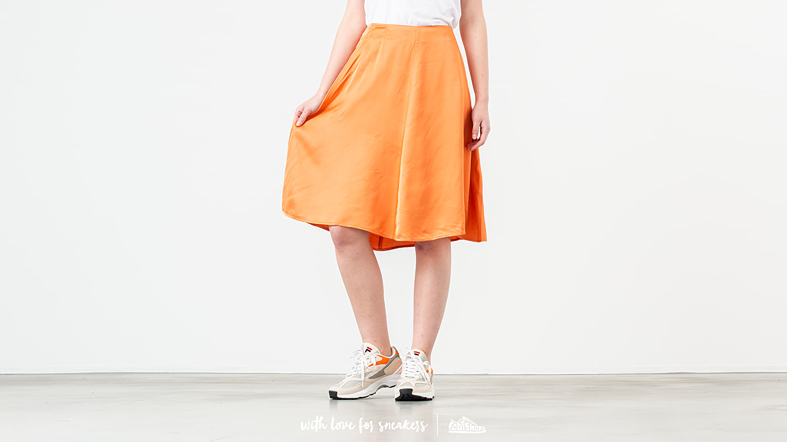 Sukně WOOD WOOD Rosemary Skirt Dusty Orange