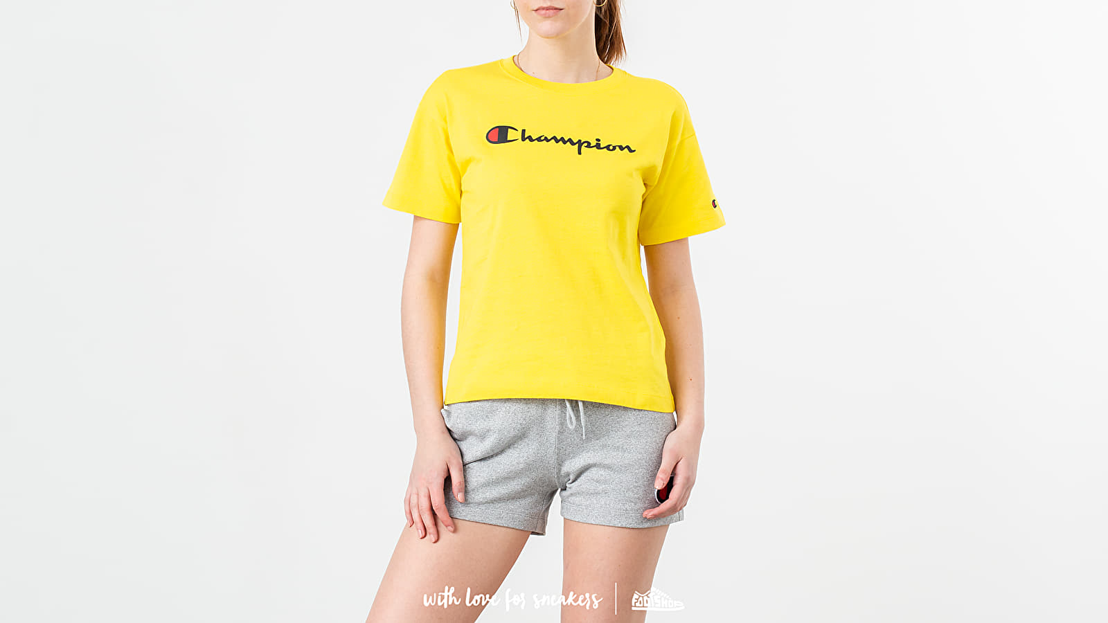 fce74f8e7 Champion Tee Yellow at a great price $41 buy at Footshop