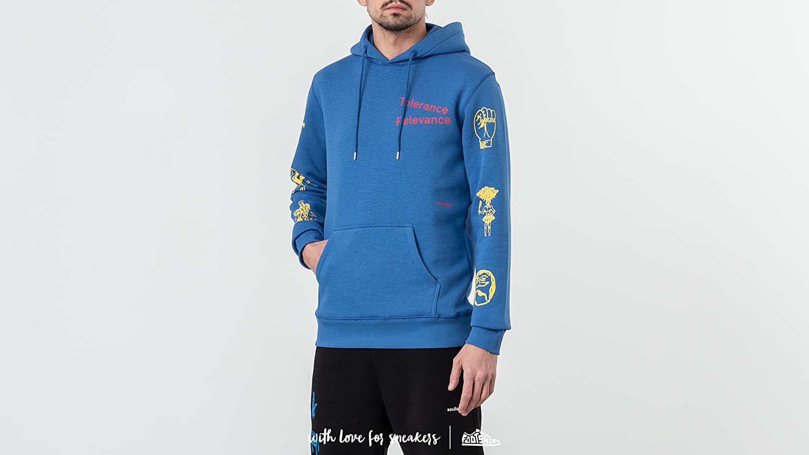 Sweatshirts Soulland Meets Footshop King Hoodie Blue