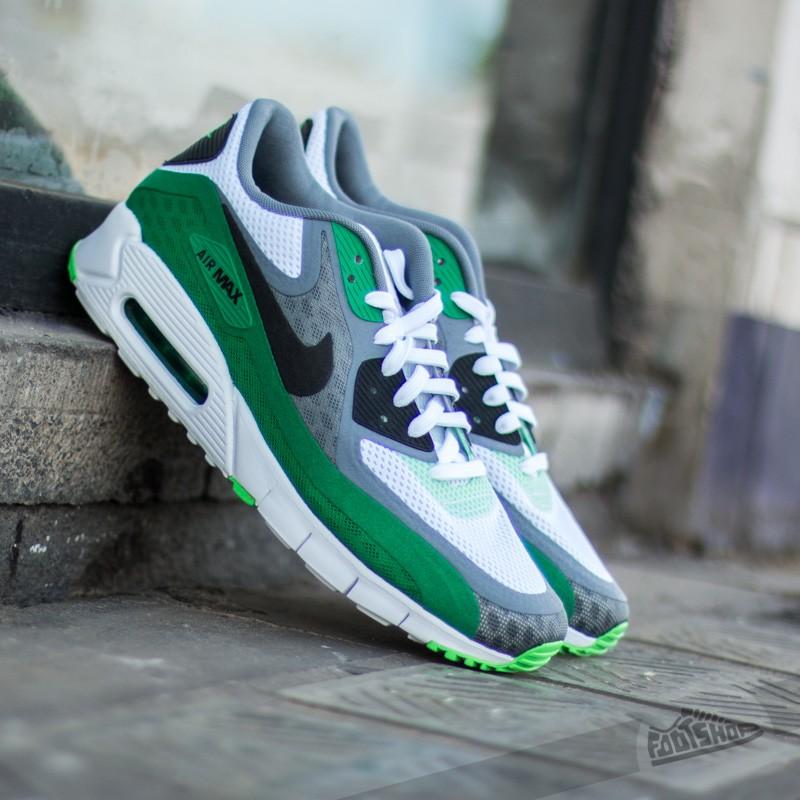 eb3d7a6d58 Nike Air Max 90 BR White/Black Cool Grey Pn Green   Footshop