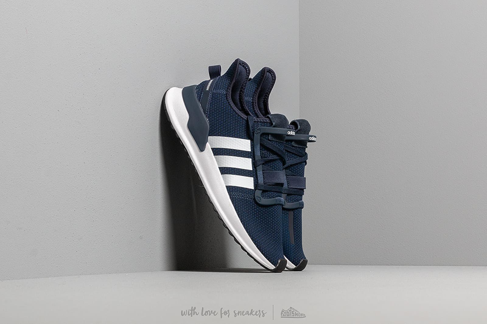 adidas U_Path Run Collegiate Navy Ftw White Core Black