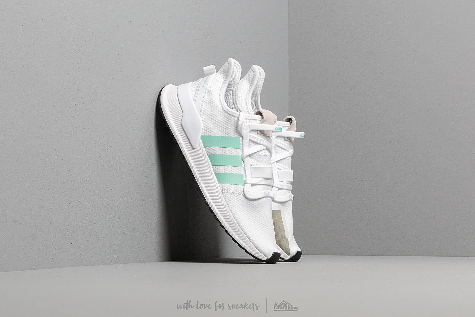 Reunión físico Invalidez  Women's shoes adidas U_Path Run W Ftw White/ Clear Mint/ Core Black |  Footshop