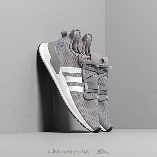 adidas U_Path Run Grey Ftw White Core Black | Footshop
