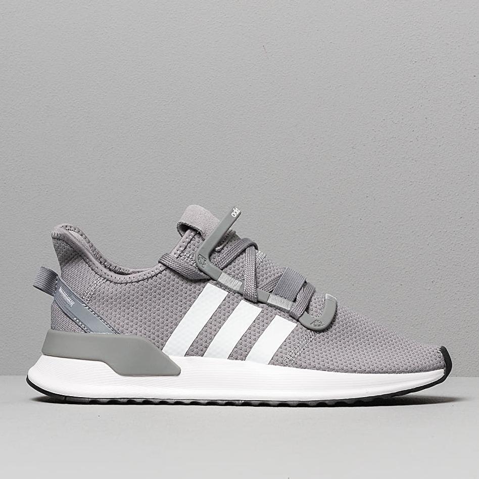 adidas U_Path Run Grey/ Ftw White/ Core Black, Gray