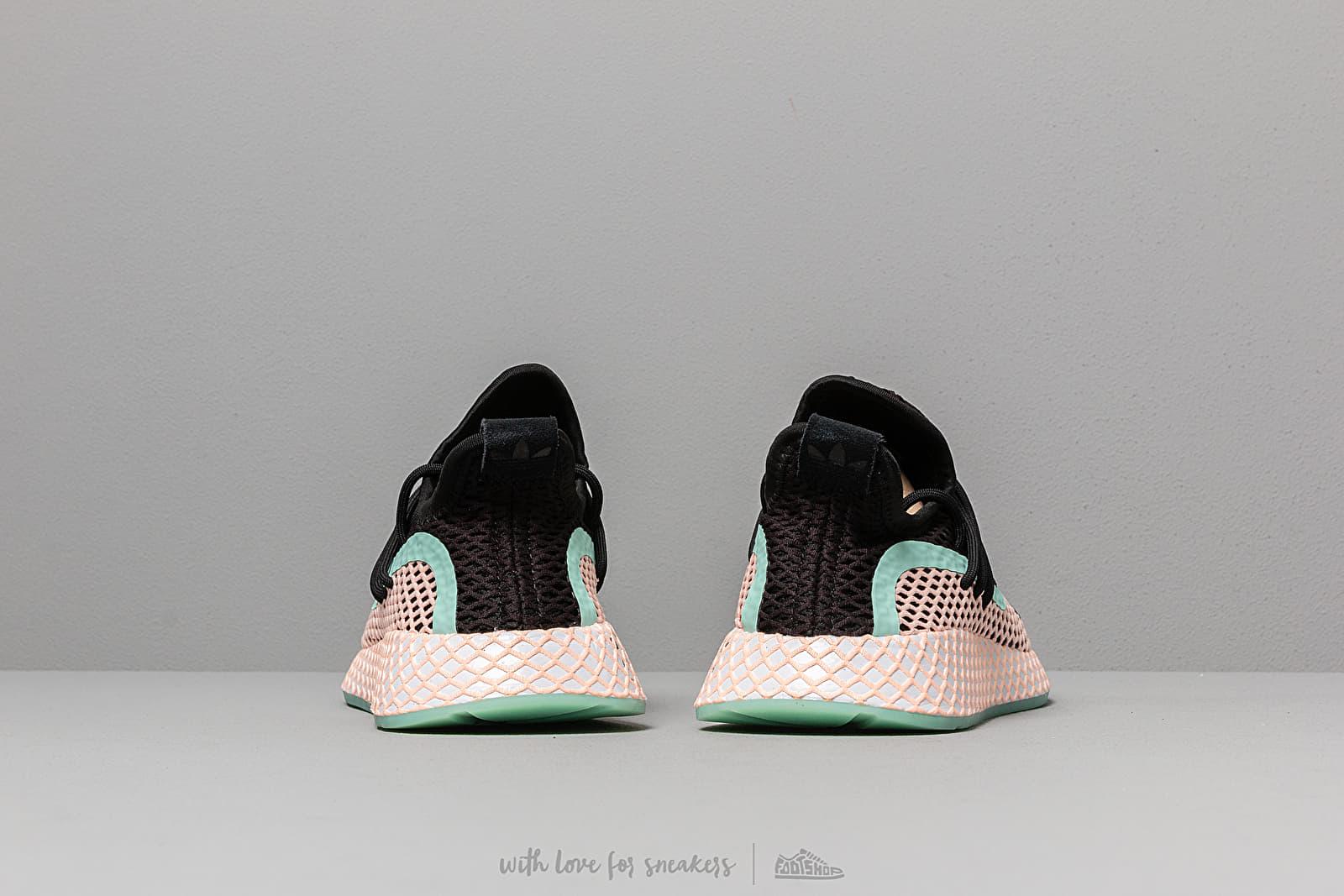 Complejo Indulgente Misterio  Men's shoes adidas Deerupt S Core Black/ Clear Orange/ Ftw White   Footshop