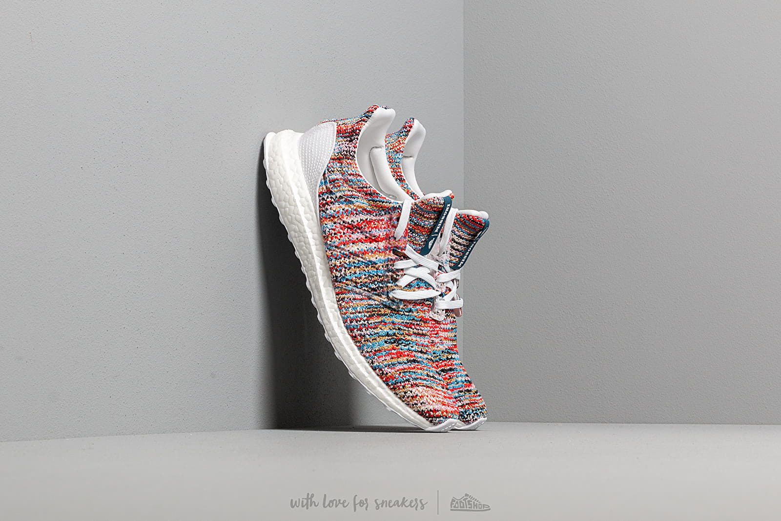 adidas x Missoni Ultraboost CLIMA Ftwr White/ Shock Cyan/ Active Red at a great price 238 € buy at Footshop