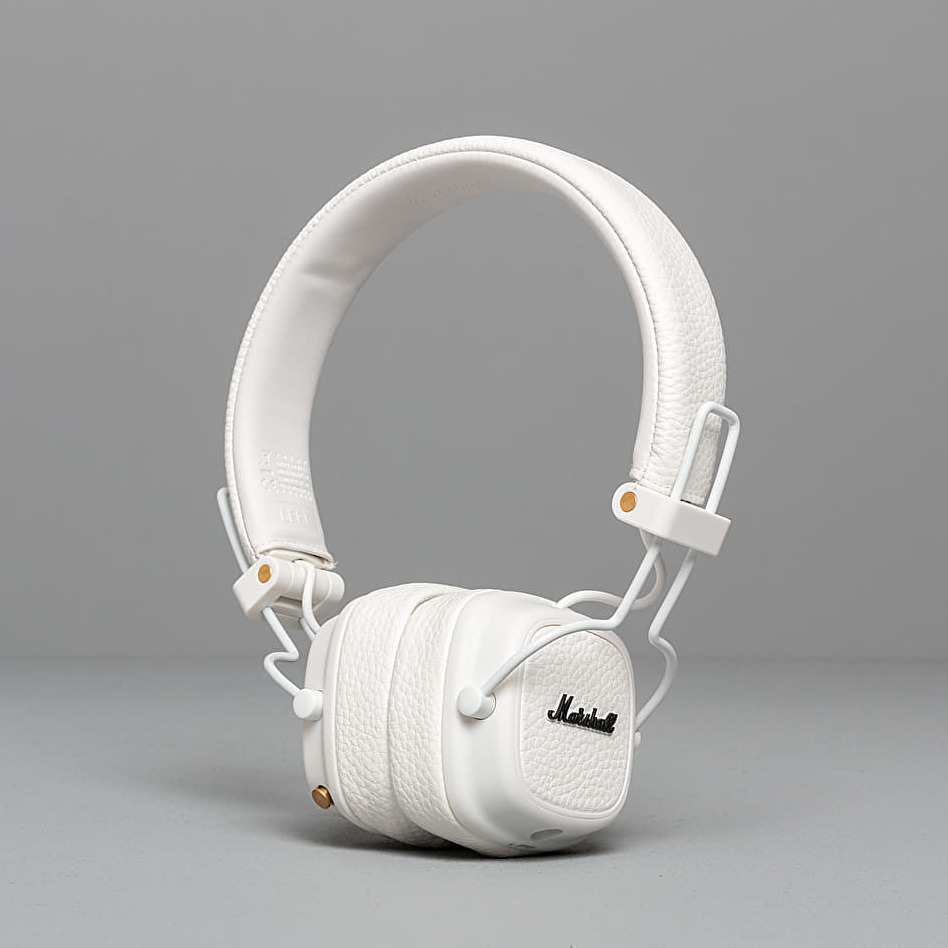 Marshall Major III Bluetooth Headphones White