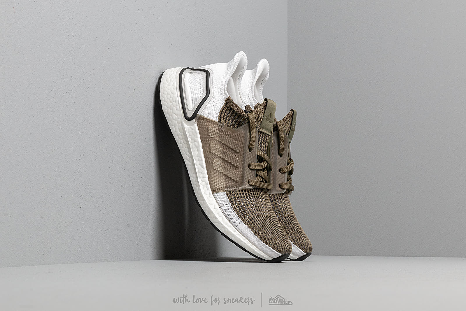 adidas UltraBOOST 19 Raw Khaki/ Raw Khaki/ Core Black at a great price 176 € buy at Footshop