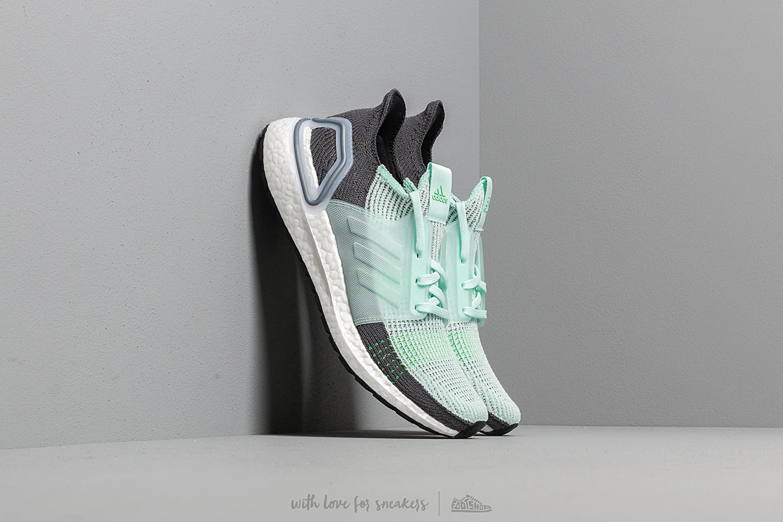 df3e2b328324f adidas UltraBOOST 19 Ice Mint  Ice Mint  Grey Six at a great price  206