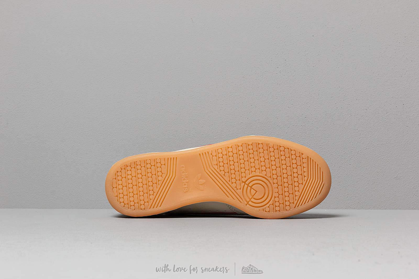 adidas Continental 80 Core Brown Scarlet Ecru Tint | Footshop