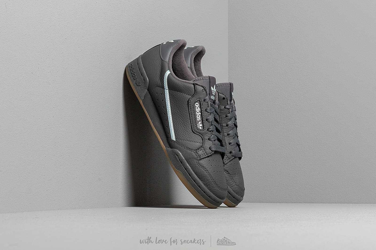 better new release entire collection adidas Continental 80 Grey Five/ Ice Mint/ Ash Grey | Footshop