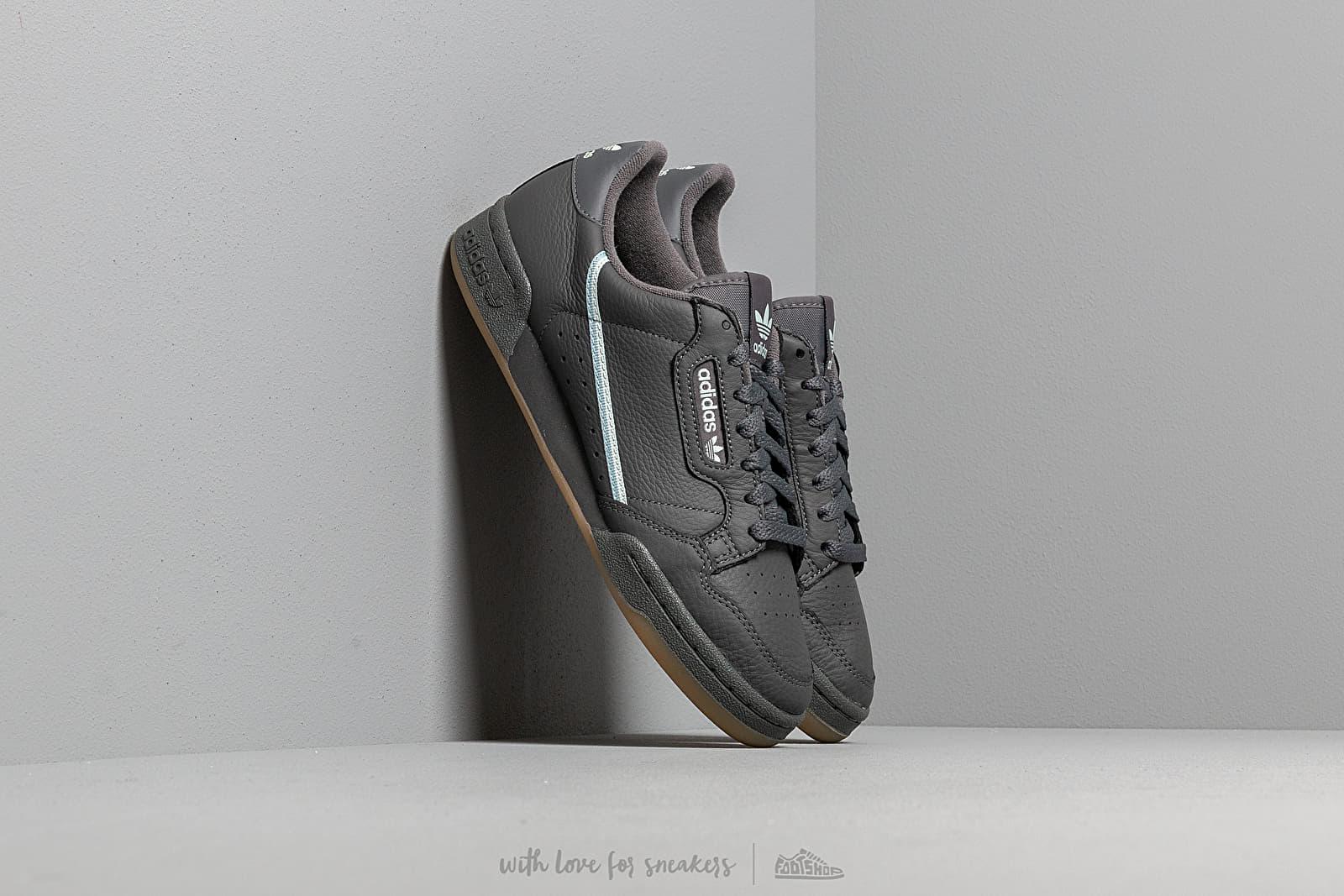 Pánské tenisky a boty adidas Continental 80 Grey Five/ Ice Mint/ Ash Grey