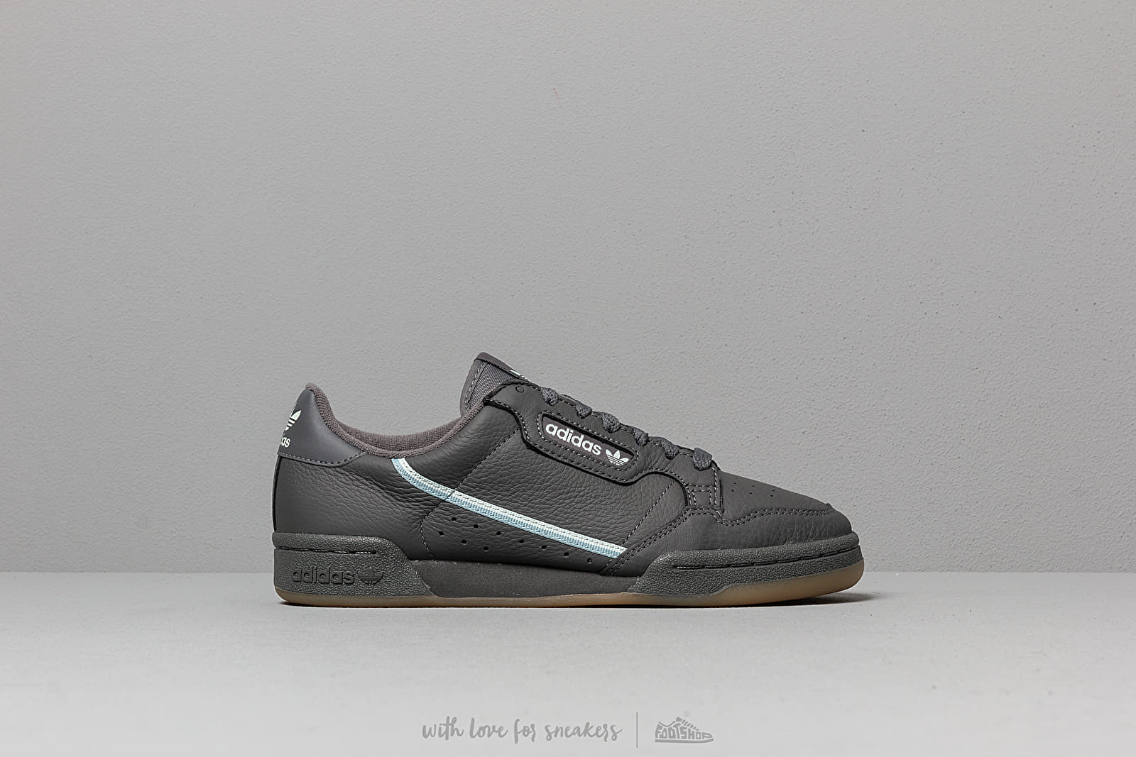 d66c3f6204206 adidas Continental 80 Grey Five  Ice Mint  Ash Grey at a great price 92