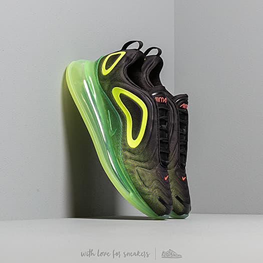 Nike Air Max 720 Black Bright Crimson Volt | Footshop