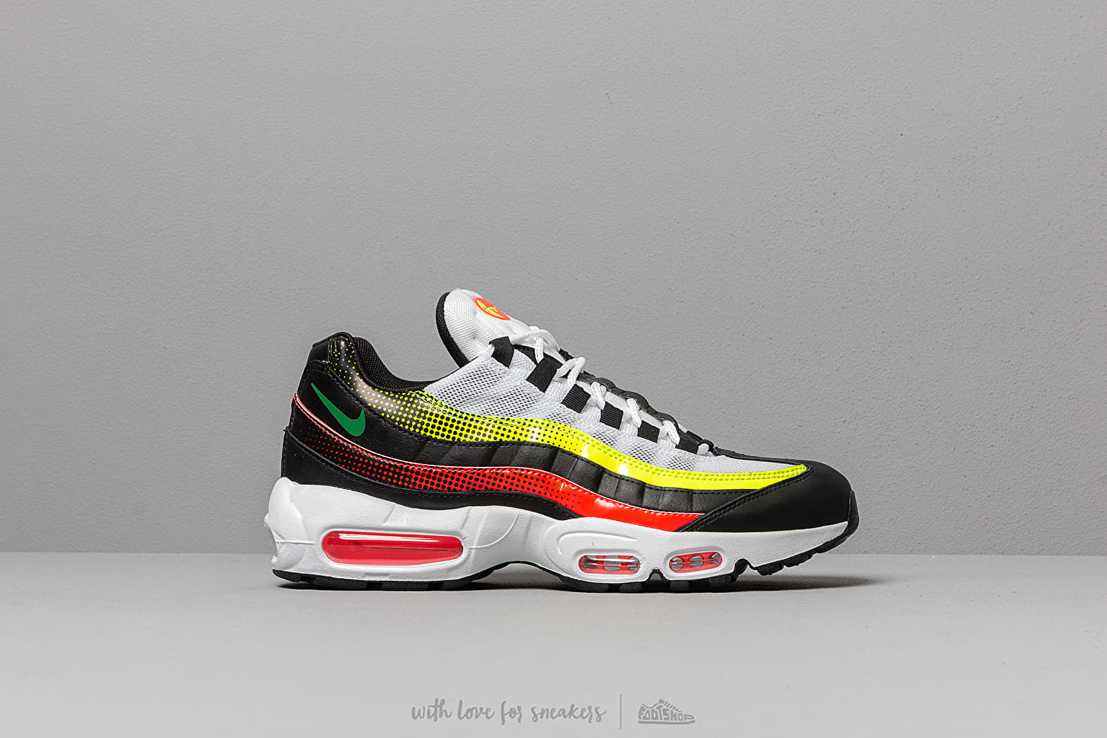 finest selection 8880e a2fca Nike Air Max 95 Se Black  Aloe Verde-Bright Crimson-Volt at a